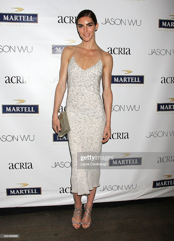 Hilary Rhoda attends the 2014 Young Friends Of ACRIA Summer Soiree at Highline Stages on June 11 2014 in New York City