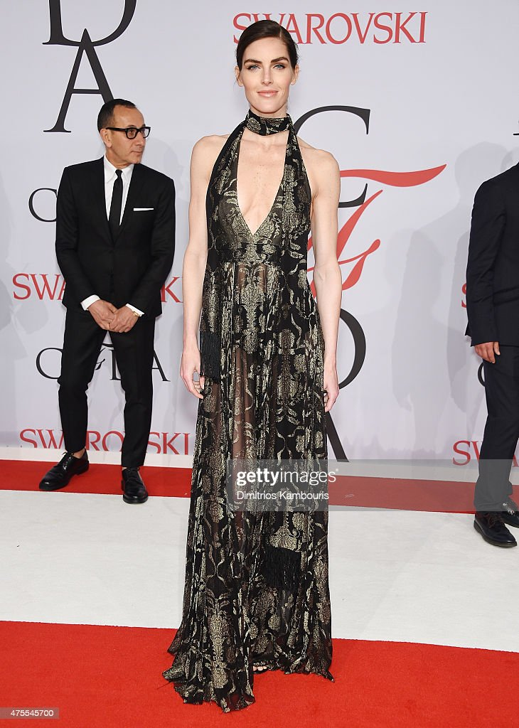 Hilary Rhoda attends the 2015 CFDA Fashion Awards at Alice Tully Hall at Lincoln Center on June 1 2015 in New York City