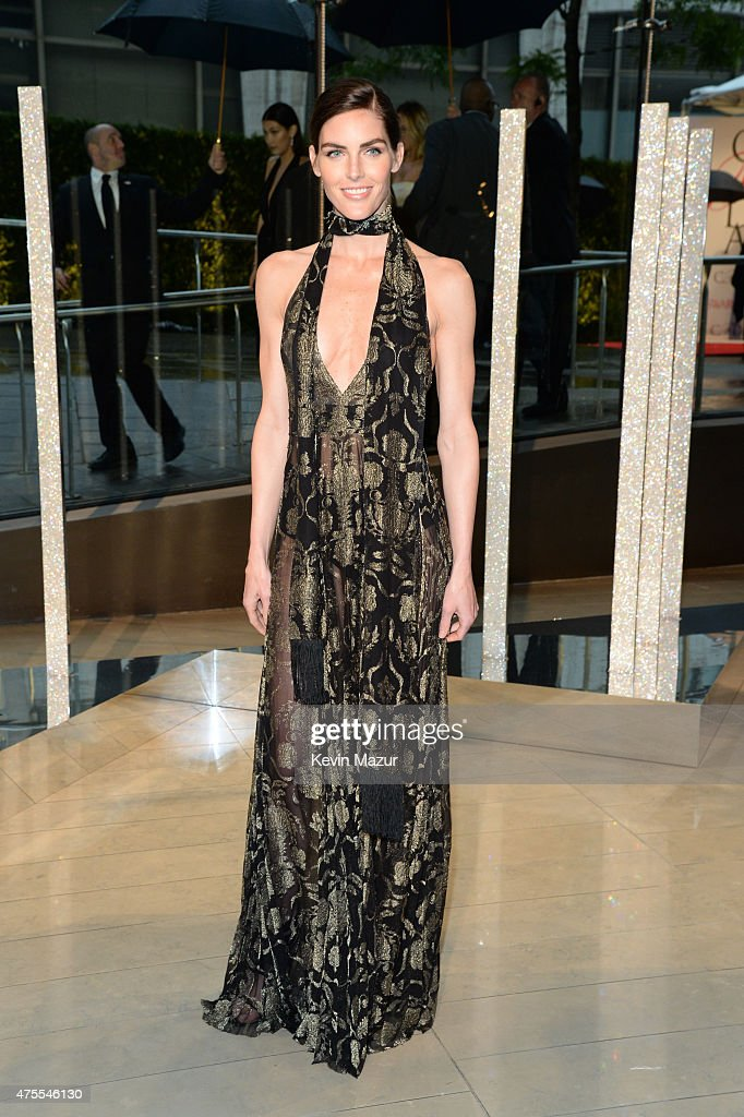 Hilary Rhoda attends the 2015 CFDA Fashion Awards at Alice Tully Hall at Lincoln Center on June 1, 2015 in New York City.