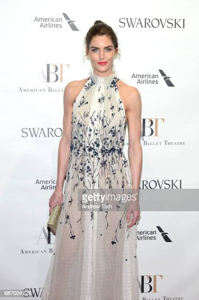 Hilary Rhoda attends the American Ballet Theatre Spring 2017 Gala at The Metropolitan Opera House on May 22 2017 in New York City