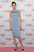 Hilary Rhoda attends the Breast Cancer Research Foundation's symposium and awards luncheon at The Waldorf=Astoria on October 9 2014 in New York City