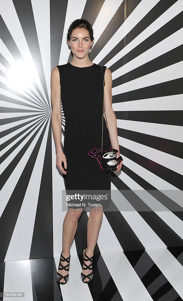 <a gi-track='captionPersonalityLinkClicked' href=/galleries/search?phrase=Hilary+Rhoda&family=editorial&specificpeople=637945 ng-click='$event.stopPropagation()'>Hilary Rhoda</a> attends the celebration of the collaboration between Jimmy Choo and Artist Rob Pruitt at The Fletcher Sinclair Mansion on October 25, 2012 in New York City.