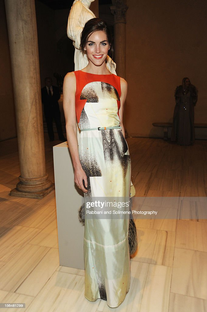 Hilary Rhoda attends the cocktail party prior to the 2012 Apollo Circle Benefit at the Metropolitan Museum of Art on November 15, 2012 in New York City.
