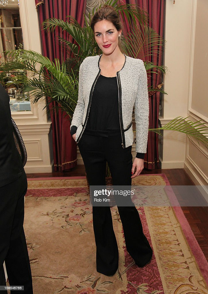 Hilary Rhoda attends the Derek Blasberg for Opening Ceremony Stationery launch party at the Saint Regis Hotel on December 18, 2012 in New York City.