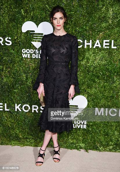 Hilary Rhoda attends the God's Love We Deliver Golden Heart Awards on October 17 2016 in New York City