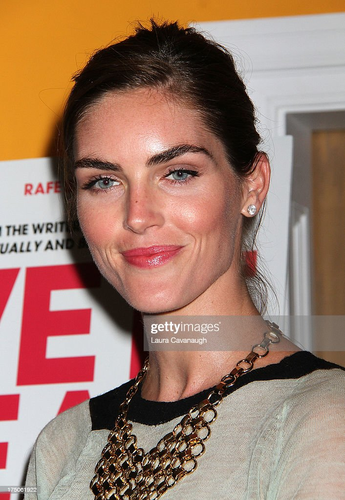 <a gi-track='captionPersonalityLinkClicked' href=/galleries/search?phrase=Hilary+Rhoda&family=editorial&specificpeople=637945 ng-click='$event.stopPropagation()'>Hilary Rhoda</a> attends the 'I Give It A Year' screening at the Crosby Street Theater on July 30, 2013 in New York City.