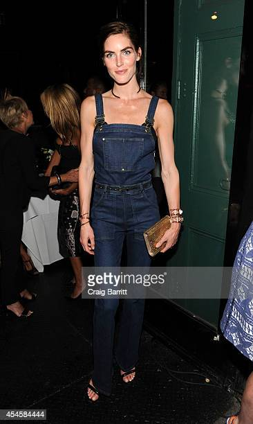 Hilary Rhoda attends the Jennifer Fischer New York City flagship store opening on September 3 2014 in New York City