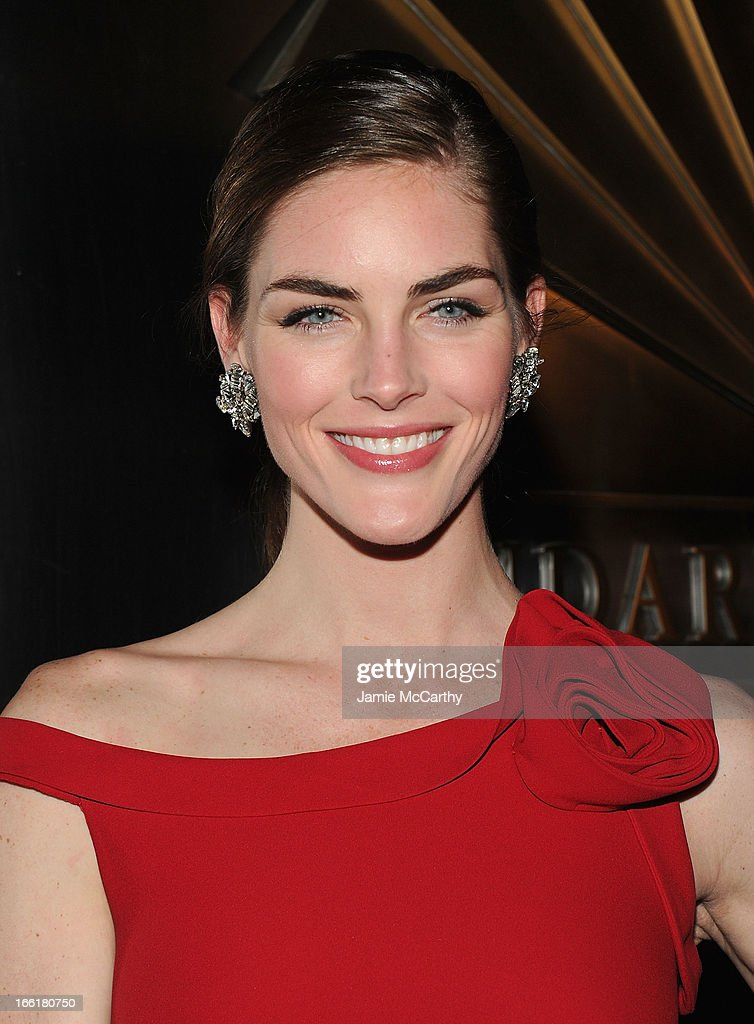 Hilary Rhoda attends the New Yorker's For Children's 10th Anniversary A Fool's Fete Spring Dance at Mandarin Oriental Hotel on April 9, 2013 in New York City.