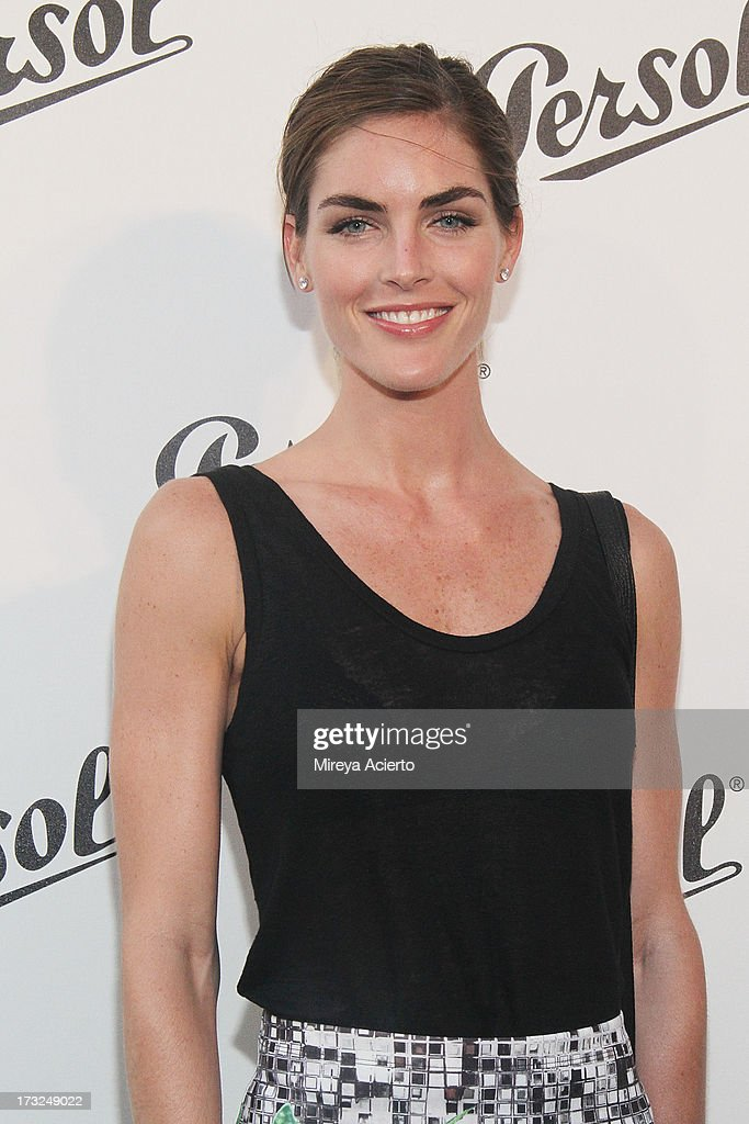 Hilary Rhoda attends the 'Persol Magnificent Obsessions:30 Stories Of Craftsmanship In Film' Opening at Museum of the Moving Image on July 10, 2013 in the Queens borough of New York City.
