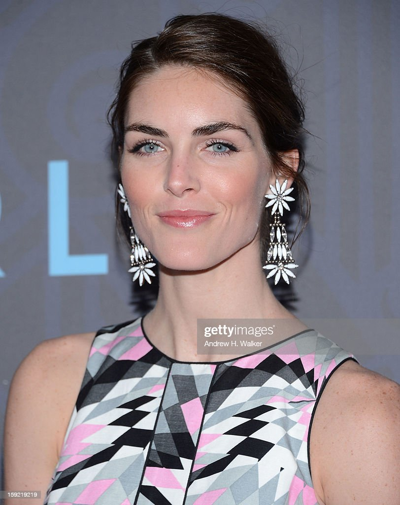 Hilary Rhoda attends the premiere of 'Girls' season 2 hosted by HBO at NYU Skirball Center on January 9, 2013 in New York City.