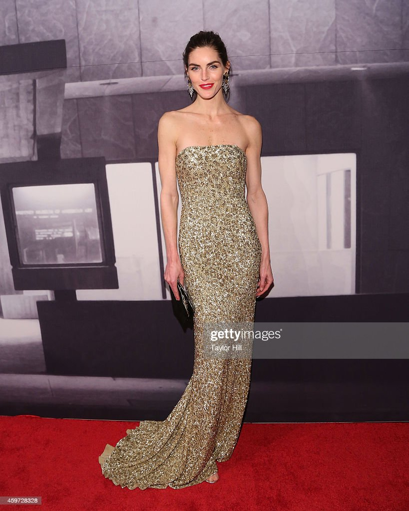 Hilary Rhoda attends The Whitney Museum Of American Art's 2014 Gala Studio Party at The Whitney Museum of American Art on November 19 2014 in New...