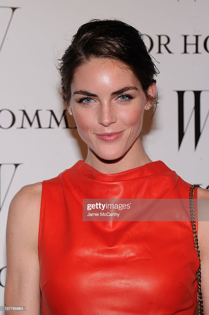 Hilary Rhoda attends the World Premiere of Bruce Weber's Film 'CAN I MAKE THE MUSIC FLY' hosted by DIOR Homme's Kris Van Assche, Bruce Weber, & W Magazine's Stefano Tonchi in Celebration of The New Dior Homme Miami Boutique at The Moore Building on December 5, 2012 in Miami, Florida.