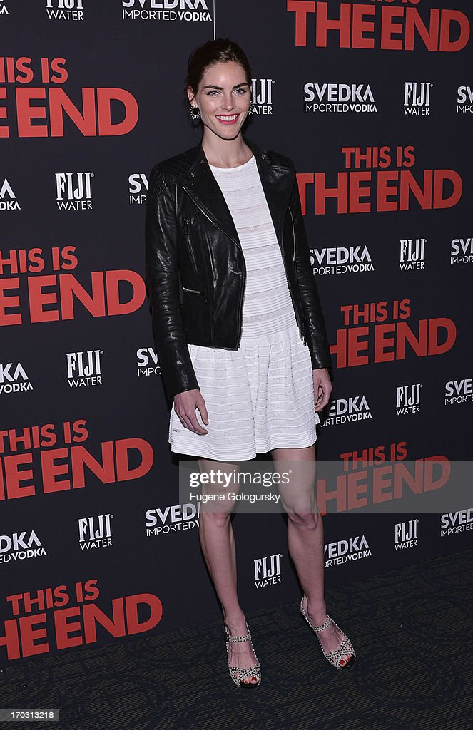 <a gi-track='captionPersonalityLinkClicked' href=/galleries/search?phrase=Hilary+Rhoda&family=editorial&specificpeople=637945 ng-click='$event.stopPropagation()'>Hilary Rhoda</a> attends 'This Is The End' New York Premiere at Landmark's Sunshine Cinema on June 10, 2013 in New York City.