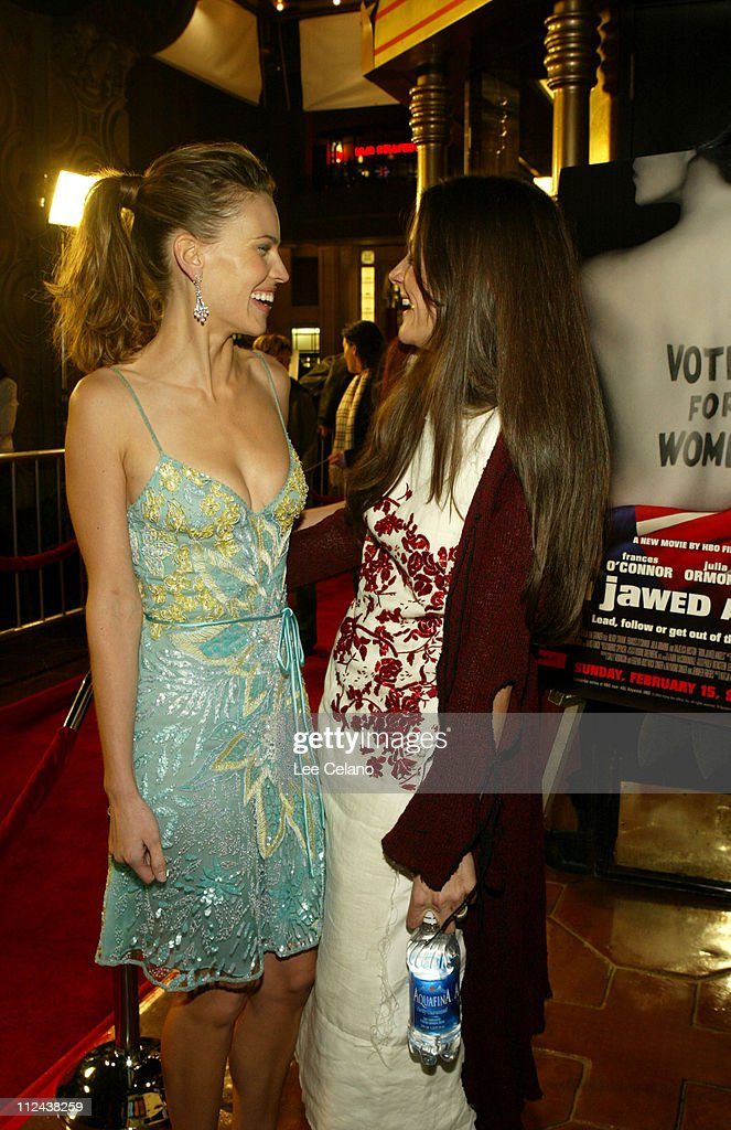 """Los Angeles Premiere of """"Iron Jawed Angels"""" - Red Carpet"""