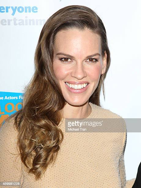 Hilary Swank arrives at The Actor's Fund 2014 The Looking Ahead Awards held at Taglyan Cultural Complex on December 4 2014 in Hollywood California