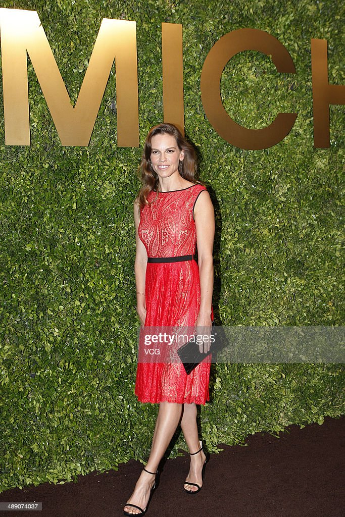 <a gi-track='captionPersonalityLinkClicked' href=/galleries/search?phrase=Hilary+Swank&family=editorial&specificpeople=201692 ng-click='$event.stopPropagation()'>Hilary Swank</a> attends the Michael Kors Jet Set Experience on May 9, 2014 in Shanghai, China.