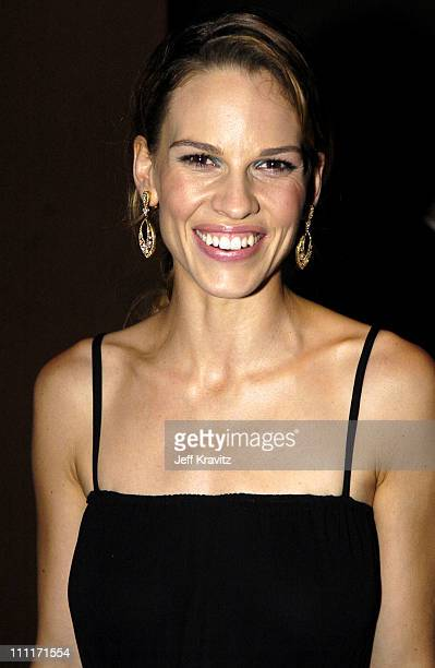 Hilary Swank during 10th Annual Critics' Choice Awards Audience and Backstage at Wiltern LG Theater in Los Angeles California United States