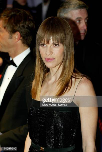 Hilary Swank during 32nd Cesar Awards Ceremony Arrivals at Theatre du Chatelet in Paris France