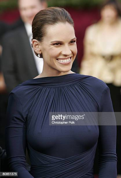 Hilary Swank nominee Best Actress in a Leading Role for Million Dollar Baby