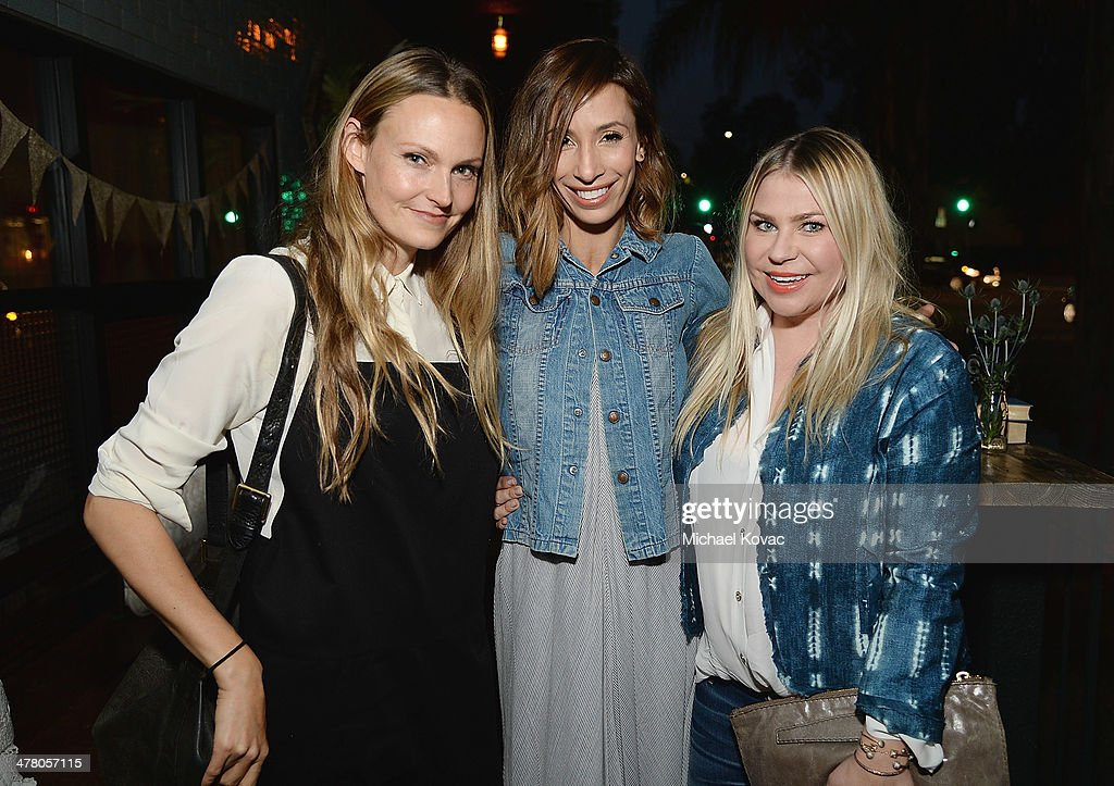 Hilary Walsh, Meritt Elliott, and Emily Current attend Anthropologie Celebrates A Denim Story by Emily Current, Meritt Elliott and Hilary Walsh at PaliHotel on March 11, 2014 in Los Angeles, California.