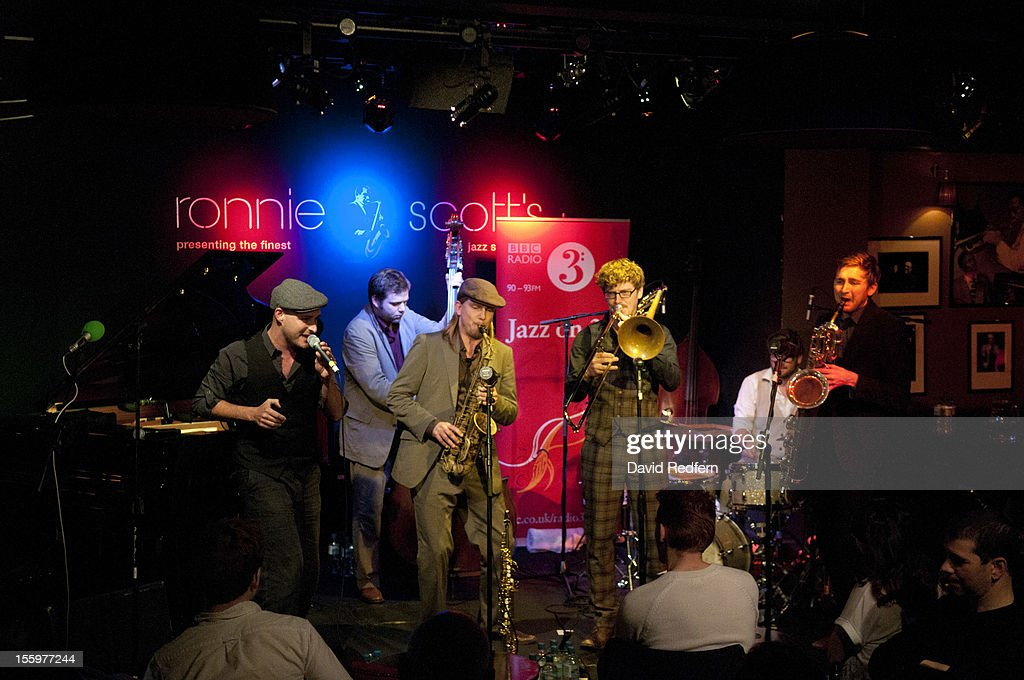 Hildegard Learns to Fly performs on stage at Ronnie Scotts for the London Jazz Festival Jazz on 3 Special on November 9, 2012 in London, United Kingdom.