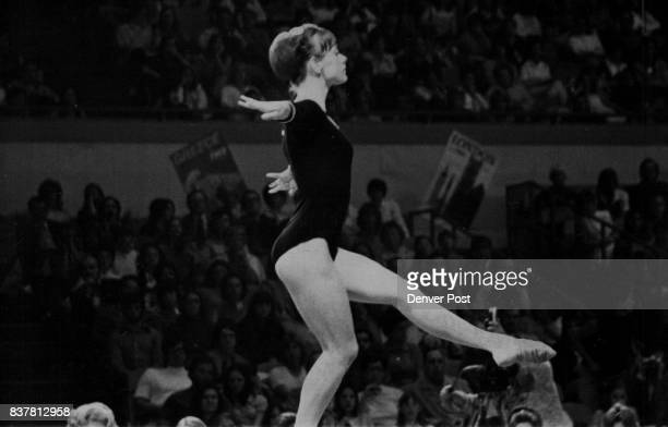 Hill Debbie Denver Gymnast Denver Gymnast Debbie Hill Behind Iron Curtain Led team to two victories in four matches on Europe tour Credit The Denver...