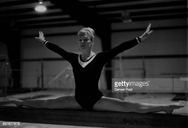 Hill Debbie Gymnast Heads Gym Team Against Czechs Credit The Denver Post