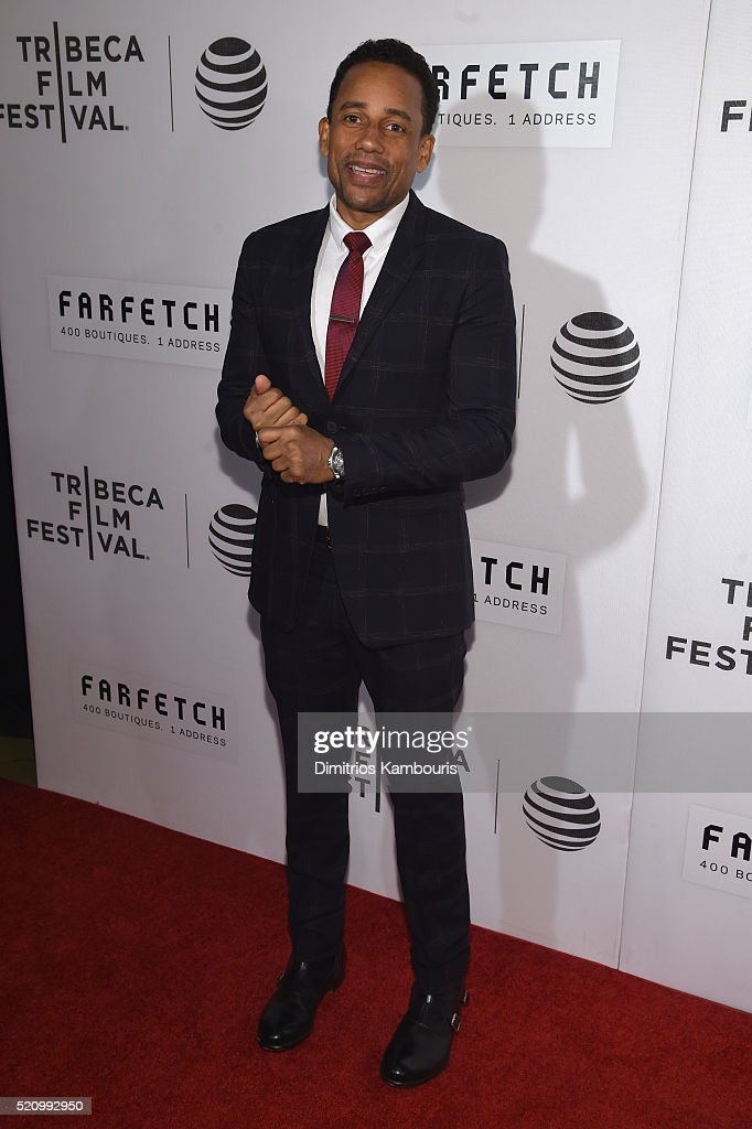 Hill Harper attends the 'First Monday In May' world premiere during the 2016 Tribeca Film Festival opening night at BMCC John Zuccotti Theater on...