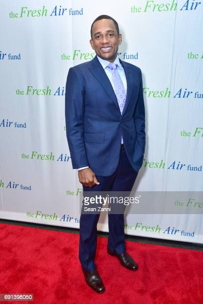 Hill Harper attends The Fresh Air Fund's Spring Benefit 2017 at Pier Sixty Chelsea Piers on June 1 2017 in New York City