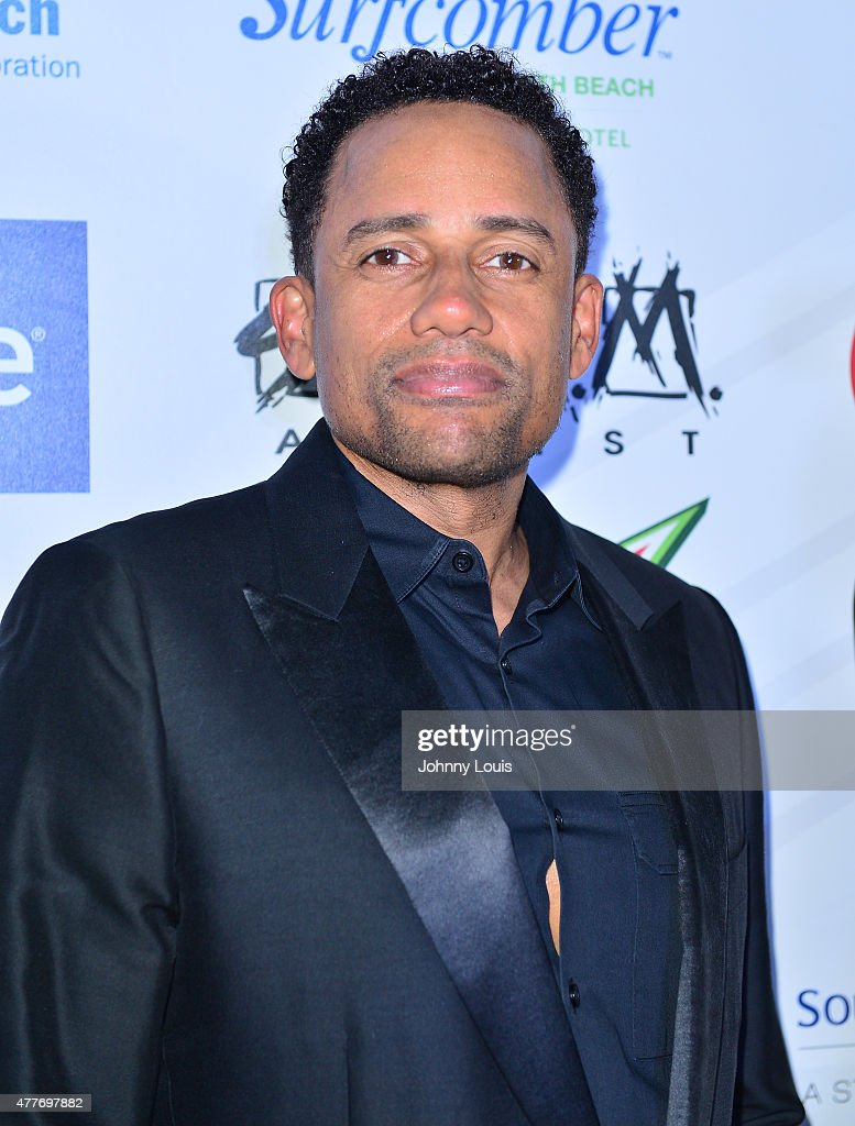 Hill Harper attends the VIP KickOff Concert during the 11th Annual Irie Weekend at Kimpton Surfcomber Hotel on June 18 2015 in Miami Beach Florida