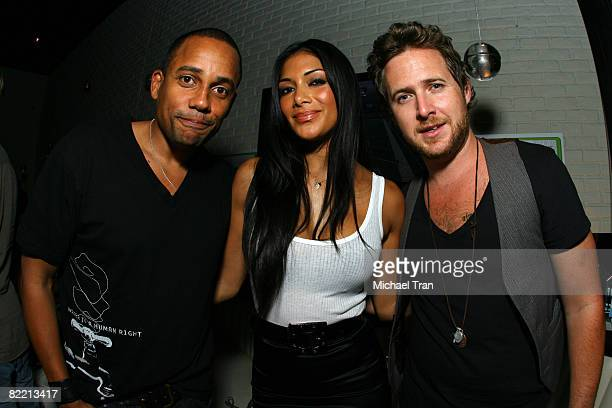 Hill Harper Nicole Scherzinger and AJ Buckley at the 20th Anniversary of Madden NFL Franchise Celebration Hosted by EA Sports at STK/CoCo De Ville in...