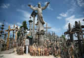 The Hill of Crosses is a site of pilgrimage about 12 km north of the city of Šiauliai, in northern Lithuania. The precise origin of the practice of leaving crosses on the hill is uncertain, but it is
