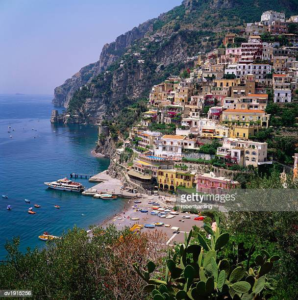 Hill Town of Positano on the Amalfi Coast, Italy