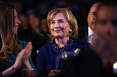 Hillary Clinton and daughter Chelsea Clinton are viewed in the audience as President Barack Obama who is in New York City for the 69th Session of the...