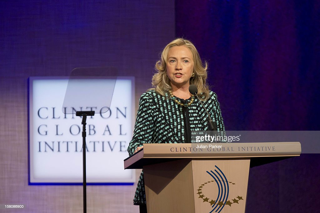 Hillary Clinton Attending The Clinton Global Initiative, At The Sheraton Hotel And Towers In New York, Usa. .