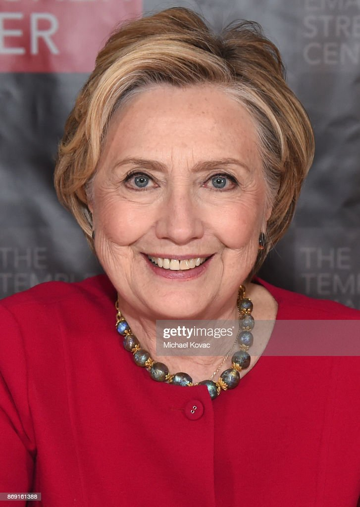 Hillary Clinton attends The Streicker Center hosts a Special Evening with Former Secretary of State Hillary Clinton at The Streicker Center on November 1, 2017 in New York City.