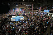 Hillary Clinton presumptive 2016 Democratic presidential nominee speaks during a campaign event in Tampa Florida US on Friday July 22 2016 Clinton...