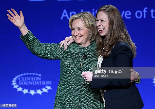 Hillary Rodham Clinton Former US Secretary of State and US Senator from New York and her daughter Chelsea Clinton Vice Chair Clinton Foundation...