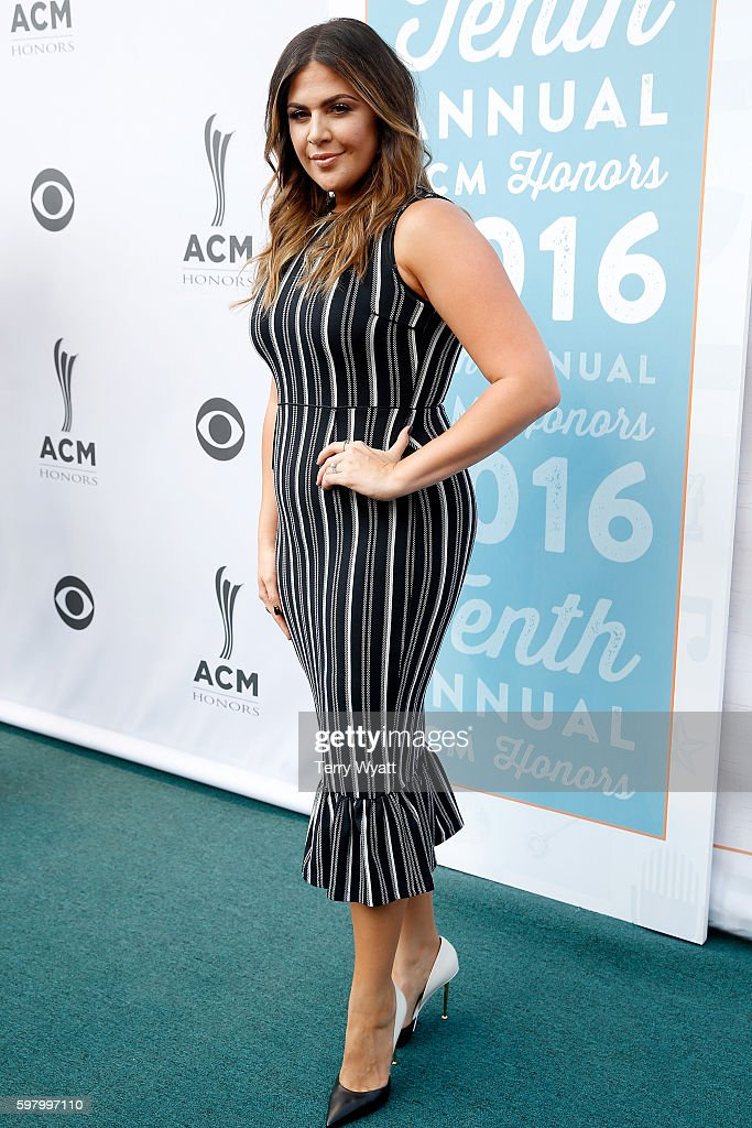 Hillary Scott of Lady Antebellum attends the 10th Annual ACM Honors at the Ryman Auditorium on August 30 2016 in Nashville Tennessee