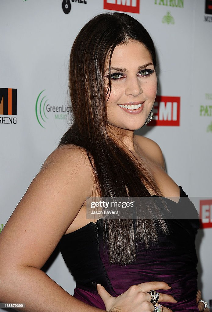 Hillary Scott of Lady Antebellum attends the EMI Grammy after party on February 12, 2012 in Hollywood, California.