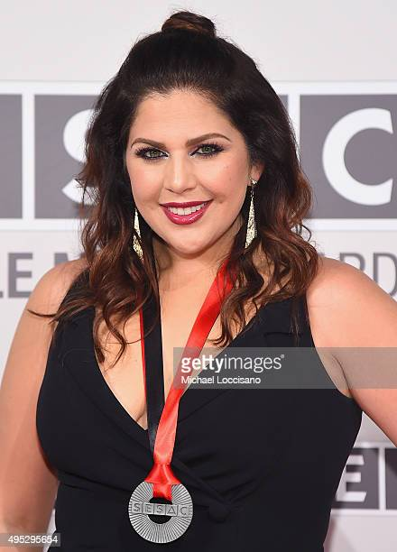 Hillary Scott of Lady Antebellum attends the SESAC 2015 Nashville Music Awards at Country Music Hall of Fame and Museum on November 1 2015 in...