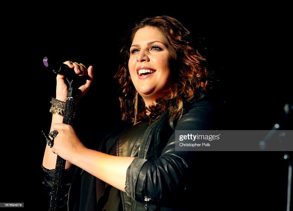 Hillary Scott of Lady Antebellum performs onstage during 2013 Stagecoach: California's Country Music Festival held at The Empire Polo Club on April 27, 2013 in Indio, California.