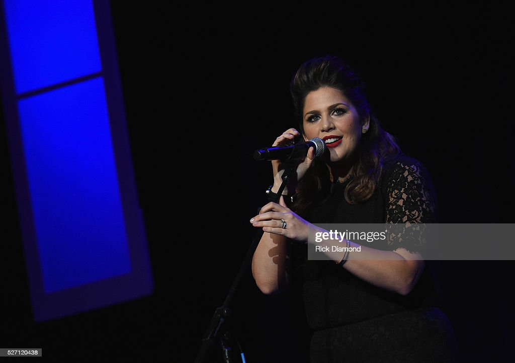 Hillary Scott & The Scott Family perform during Sam's Place - Music For The Spirit - May 1, 2016 at Ryman Auditorium in Nashville, Tennessee.