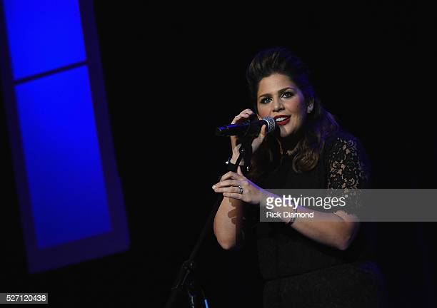Hillary Scott The Scott Family perform during Sam's Place Music For The Spirit May 1 2016 at Ryman Auditorium in Nashville Tennessee