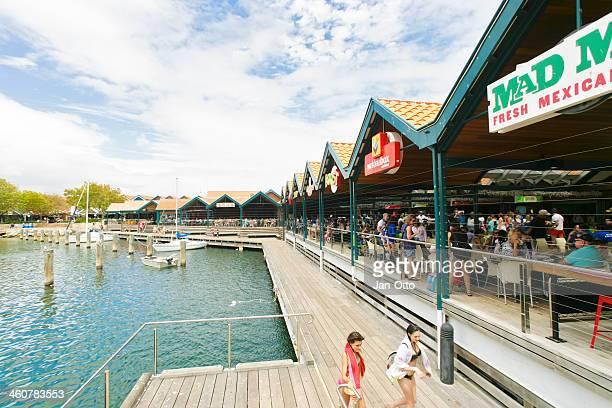 Hillarys boat harbour in Perth, Western Australia.