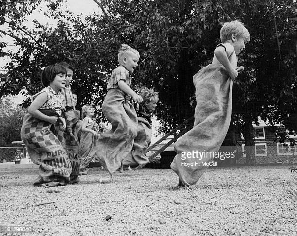 JUN 7 1968 JUN 11 1968 JUN 12 1968 Hillcroft Picnic Sack Race