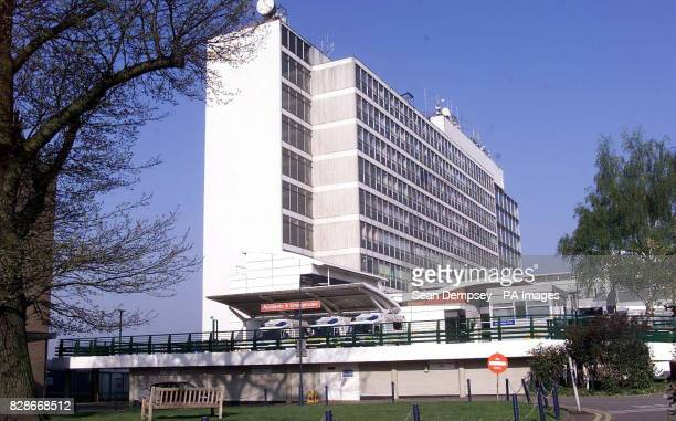 Hillingdon Hospital in west London where the body of a Muslim woman was found in the mortuary covered with rashers of bacon The desecration was...