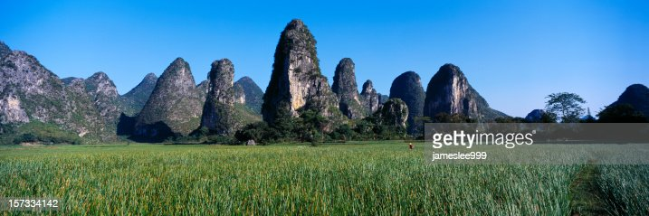 Hills and peaks of Guilin