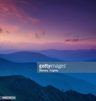 Hills lines : Stock Photo