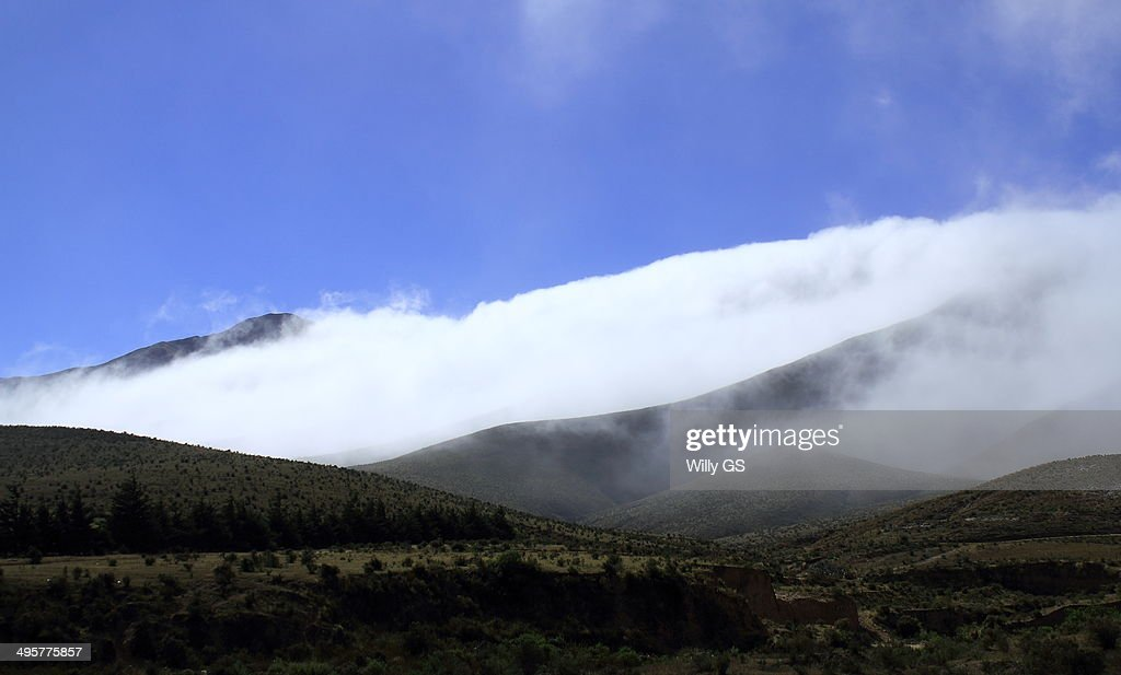 Hills of clouds